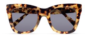 Leopard Tort Gloss / Retro Grey