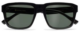 Black Gloss / P-1 Retro Gray Polarized