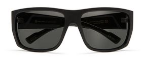 Flat Gloss Black / P-1 Gray Polarized