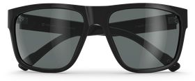 Black Gloss / P-3 Retro Gray Glass Polarized